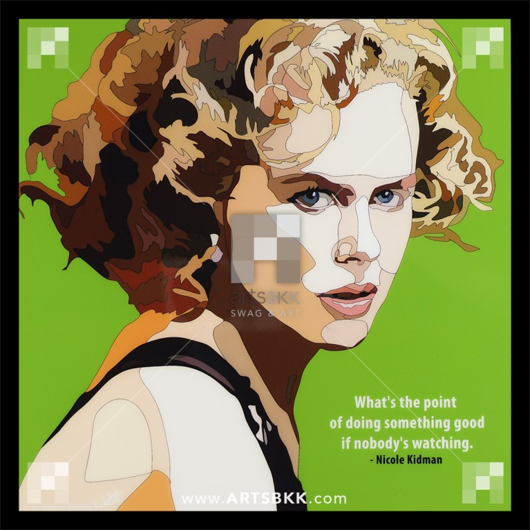 """Nicole Kidman """"What the point of doing something good if nobody watching"""""""