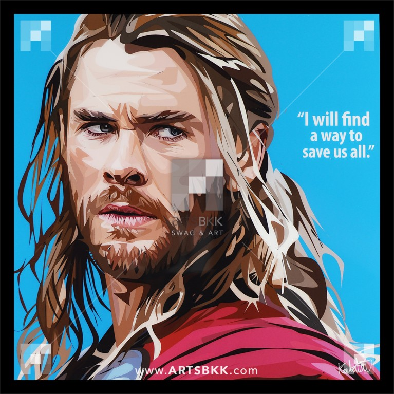 "Thor ""I will find a way to save us all"""