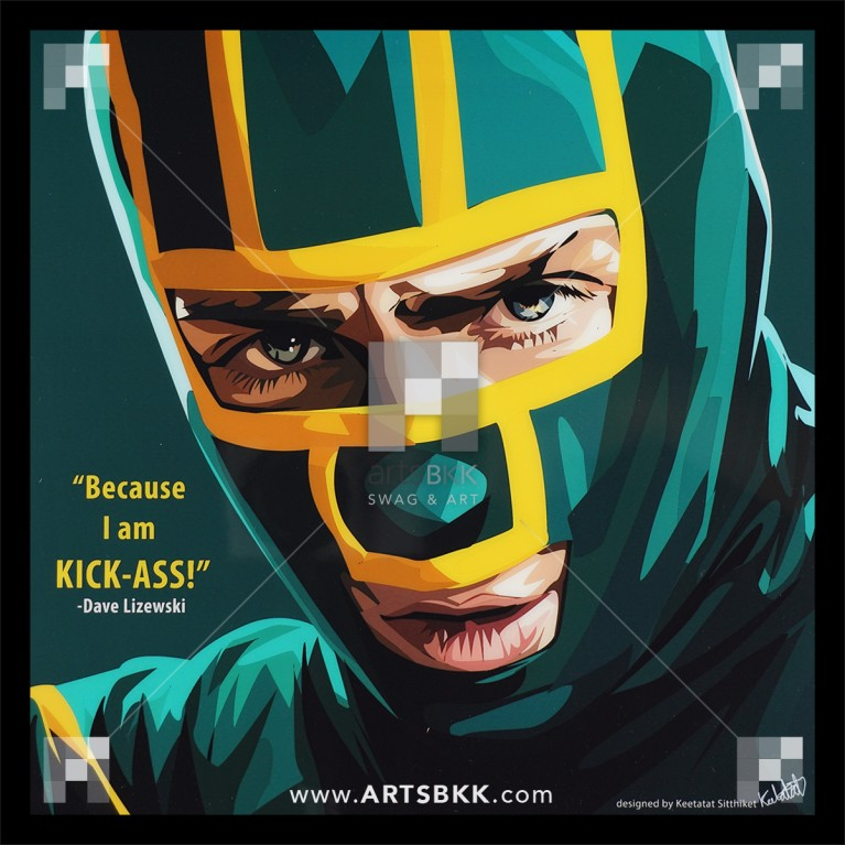 "Dave Lizewski ""Because I am KICK-ASS"""