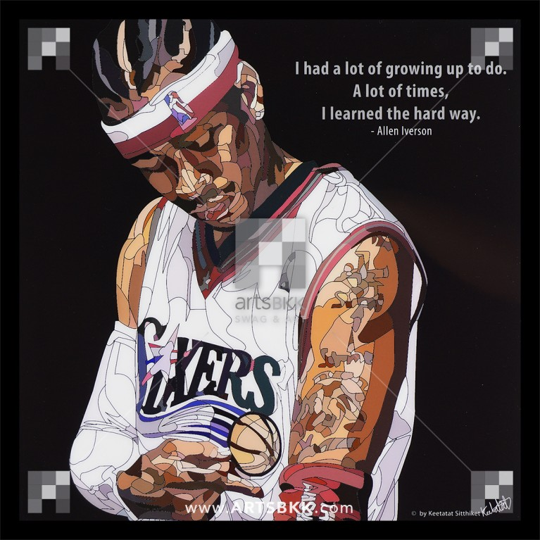 """Allen Iverson """"I had a lot of growing up to do"""""""